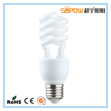 9W 11W halbe Spirale Energiesparlampe T3 Licht