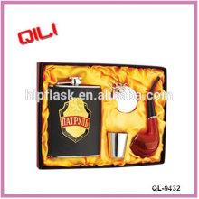 Hot sale LFGB 6oz transfer stainless steel best choose buy wine bottle russian wholesale gifts items fun flasks online