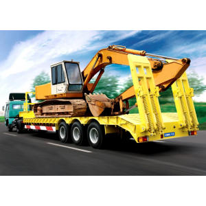 60 Ton gooseneck low loader semi-trailer