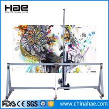 2880dpi High Resolution Wall Paper Vertical Inject Machine