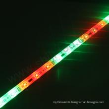 rgb imperméable a mené la bande lumineuse LPD6803 en aluminium logement epistar a mené la barre lumineuse