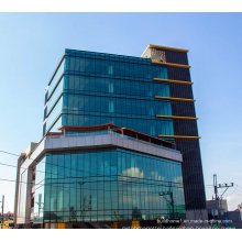 Radiation Resistance Insulated Aluminium Framed Curtain Wall Glass