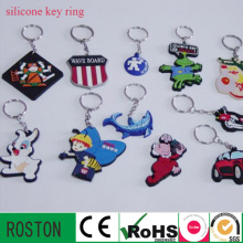 Cartoon Silicone Key Ring (more kinds of animal)