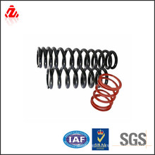 Custom titanium spring for bicycle using