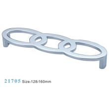 Aleación de zinc de muebles de hardware Tirar manija de gabinete (21705)
