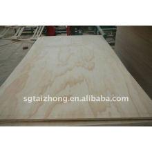 La madera contrachapada del pino de la alta calidad (10 * 1220 * 2440MM)