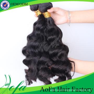 Extensión del pelo humano de la onda del cuerpo Pelo brasileño de la Virgen del visión al por mayor sin procesar