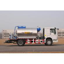 Distribuidor automático de asfalto 8000L Distribuidor de asfalto