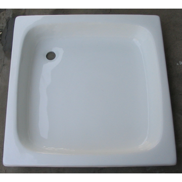 Enamel Cast Iron Shower Tray