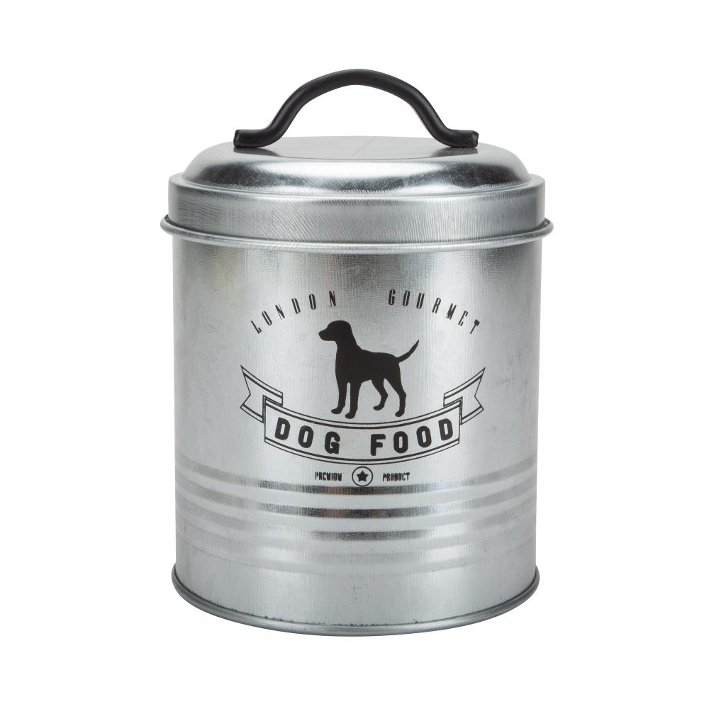 Galvanized Storage Canister