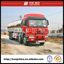 El fabricante chino ofrece el camión cisterna del combustible de 247000liters (HZZ5311GHY) para los compradores