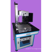 Máquina de marcado láser de fibra plástica de acero inoxidable