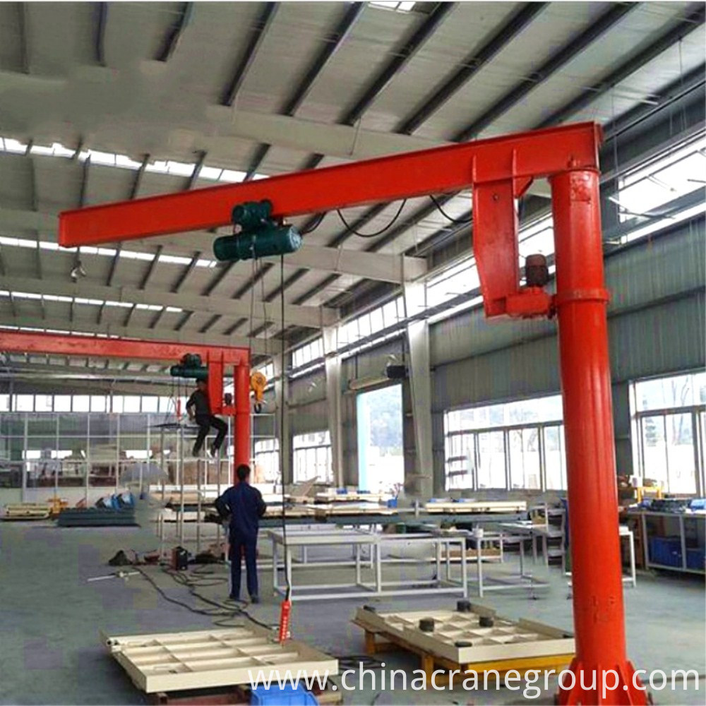 floor fixed jib crane
