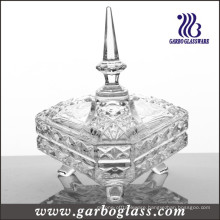 Middle East Type Glass Candy Jar (GB1801R)