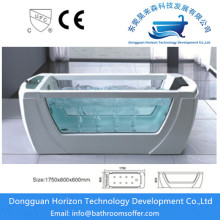 Big discounting for Classical Acrylic Bathtub Acrylic jacuzzi bath square whirlpool tub export to Russian Federation Exporter