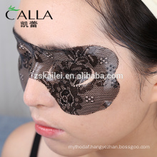 2017 New design luxury lace eye shade mask with certificate