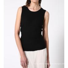 17PKCS381 women knit cashmere sweater vest