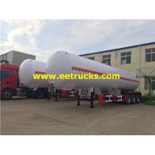 54000 liter 22ton Propane Delivery Semi-Trailers
