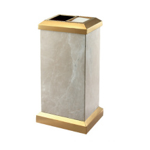 Stainless Steel High-End Waste Bin for Lobby (YW0043)