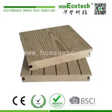 Material de plataforma de madera compuesto de plataforma de plástico