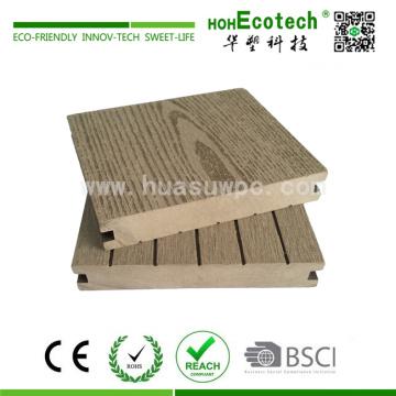 Holz-Kunststoff-Verbundplattform Terrassendielen Material