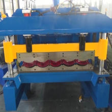 Painel de azulejos metálicos Máquina de laminação a frio