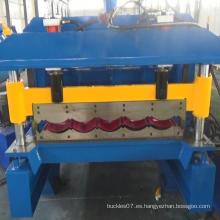 Panel de teja de metal laminado en frío que forma la máquina