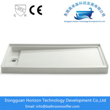 Best quality and factory for Sector shower tray Luxury bathroom bath with shower tray supply to Japan Manufacturer