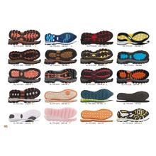Moda TPR borracha sapatos de desporto sapatos de skate causal sapatos Sole Outsole (NF01)
