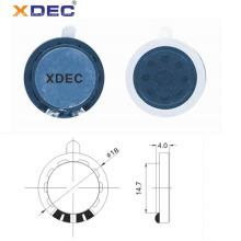 Micro altavoz de 18 mm 8ohm 0.25w altavoz de juguete musical