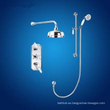 Mezclador termostático de ducha de latón