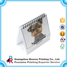 Chinese manufacturer customized monthly 2015 desktop calendar