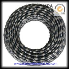 Sierra de hilo diamantado para la extracción de mármol