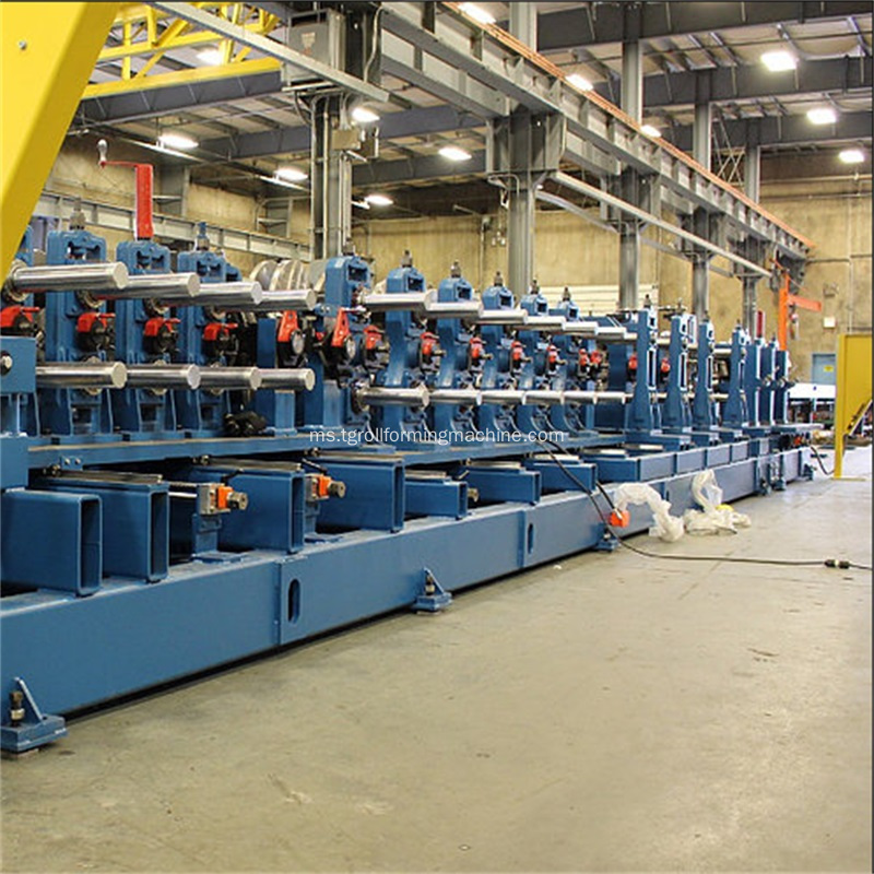 Profil Baja Omega Purlin Cold Roll Forming Machine