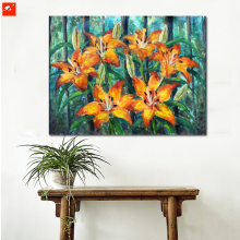 Realism Flowers Canvas Print From Photo