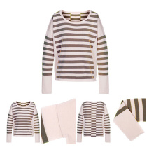 Casual Style Women Pure Cashmere Pullover