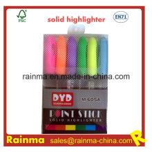 Multifunción Punto Stick Solid Highlighter Pen