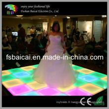 16 Changement de couleur clignotant LED Dance Floor