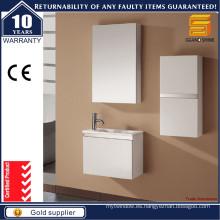 Vanidades pequeñas blancas vendedoras calientes del cuarto de baño con el gabinete del espejo