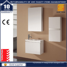Hot Selling Small White Bathroom Vanities with Mirror Cabinet
