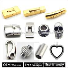 Großhandel Edelstahl Verschluss für Leder Armband Making Jewelry Finding Free Sample & Welcome OEM BX998