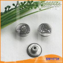 Metallknopf, benutzerdefinierte Jean Buttons BM1673