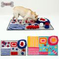 Tapis Snuffle de chien Slow Feeding Dog Cat Tapis de nourriture Nosework Pet Activity Training Blanket