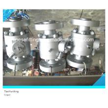 Углеродистая сталь с уменьшенным отверстием для конического фланцевого шарового клапана A105