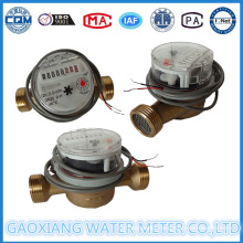 Brass Single Jet Impulse Water Meter with 1L/Pulse (DN15-DN25)