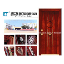 Turkish Style Steel Wooden Armored Door Made in China