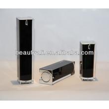 Cosméticos cuadrados de lujo Acrylic Airless Container 15ml 30ml 40ml 50ml 80ml 100ml 120ml