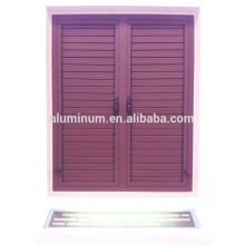 50B series aluminum shutters casement window