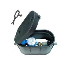 Caixa de medição de água de plástico