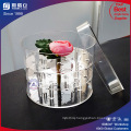 Good Price Whosale Plastic Folower Acrylic Rose Flower Box